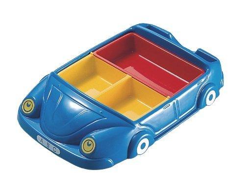 お子様食器 自動車 ランチ皿 ブルー 01702B,キッズ,プレート,食器