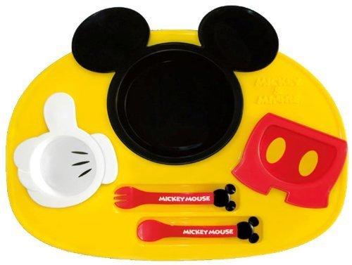 錦化成 ディズニー ミッキーマウス アイコン ランチプレート,キッズ,プレート,食器