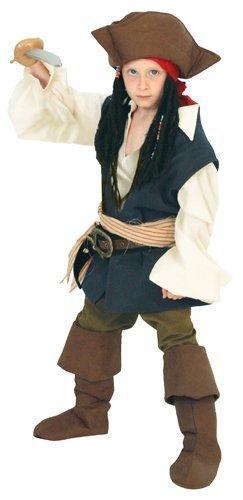 ディズニー パイレーツ オブ カリビアン ジャック スパロウ キッズコスチューム 男の子 100cm-120cm 802533S,子ども,キッズ,コスチューム