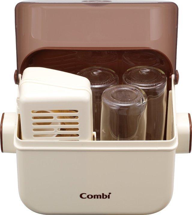 コンビ電子レンジ除菌&保管ケース,哺乳瓶,電子レンジ,消毒