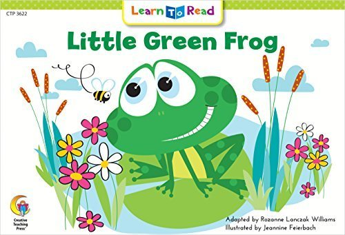 Little Green Frog (Fun and Fantasy Learn to Read),英語,絵本,人気