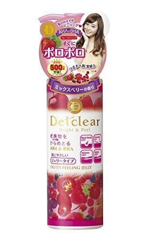 明色化粧品 DETクリア ブライト&ピール ピーリングジェリー (ミックスベリーの香り) 180mL,乾燥肌,悩み,産後