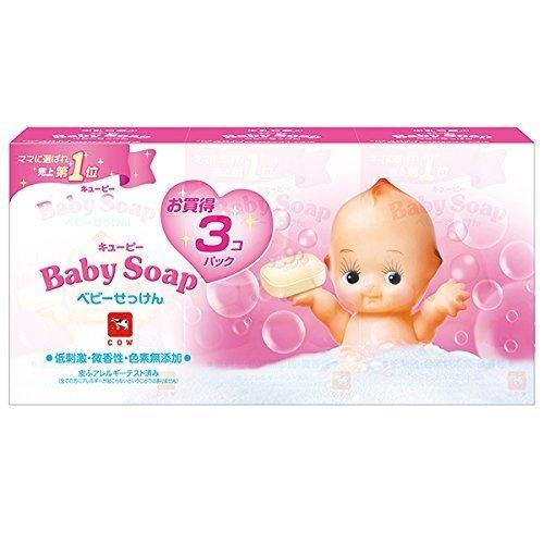 キューピー ベビー石けん 3個パック (90g×3個),乾燥肌,悩み,産後