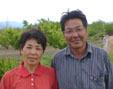 代表のふさかわ夫妻,塚原山フルーツ農場ふかさわ,ふかさわ,バーベキュー