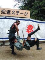 忍術体験広場の忍術ショー,伊賀流忍者博物館,忍者ショー,おすすめ