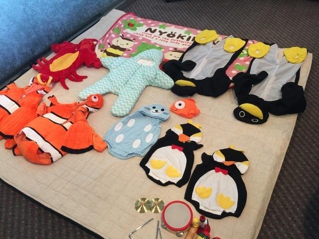赤ちゃん用の仮装衣装,親子,撮影会,イベント
