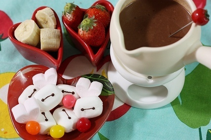 ベイマックスマシュマロチョコフォンデュ,市販,バレンタイン,アレンジ