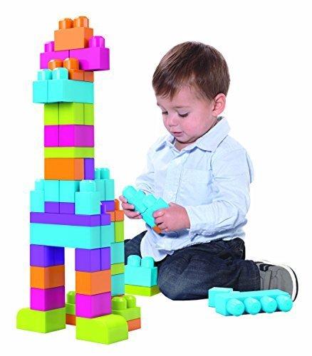 フィッシャープライス MEGABLOKS 1才からのメガブロック 60個バック(CYP66),おもちゃ,フィッシャープライス,おすすめ