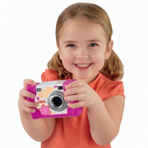 フィッシャープライス キッズ・タフ・デジタルカメラ スリム ピンク (W1460),おもちゃ,フィッシャープライス,おすすめ