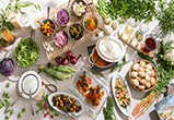 ブッフェ写真,子連れランチ ,野菜,こだわり