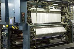 トッパンメディアプリンテック東京「座間工場」の印刷工程,工場見学,印刷,朝日新聞