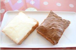 定番の練乳クリームと、チョコクリームのクリームボックス,B1グランプリ,福島,グルメ