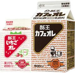 酪農カフェオレと姉妹品の酪農いちごオレ,B1グランプリ,福島,グルメ