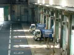 「港清掃工場」のプラットホーム,港,清掃,工場