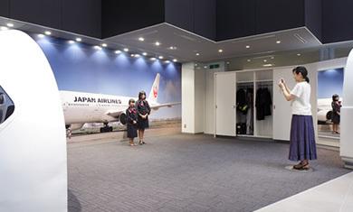 SKY MUSEUM 展示エリア,JAL,整備,工場見学