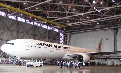JAL整備工場見学,JAL,整備,工場見学