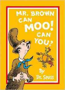 Mr.Brown can Moo! Can you? ,子ども,英語,絵本