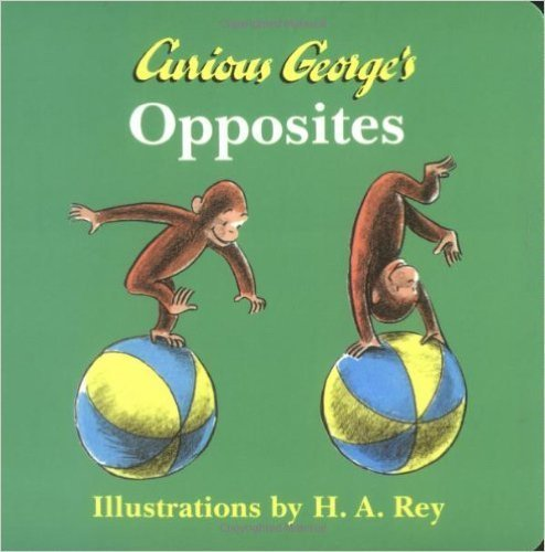 Curious George's Opposites,子ども,英語,絵本