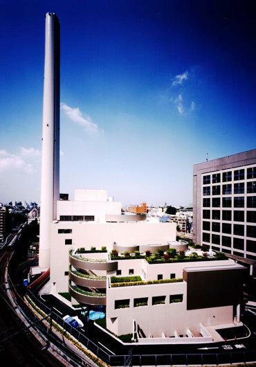 渋谷清掃工場,ゴミ処理,見学