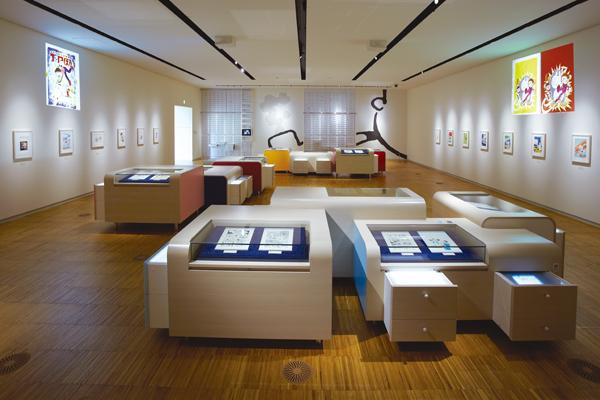 藤子・F・不二雄ミュージアムの展示室Ⅰ,藤子・F・不二雄,ミュージアム,ドラえもん