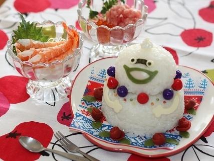 ウィスパーの二段寿司ケーキ,妖怪ウォッチ,レシピ,ひな祭り