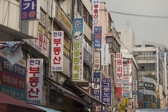 南大門市場,韓国,子連れ,旅行