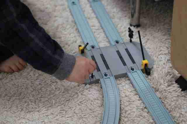 パーツをふやしてオリジナル線路,ダイソー,プチ,電車