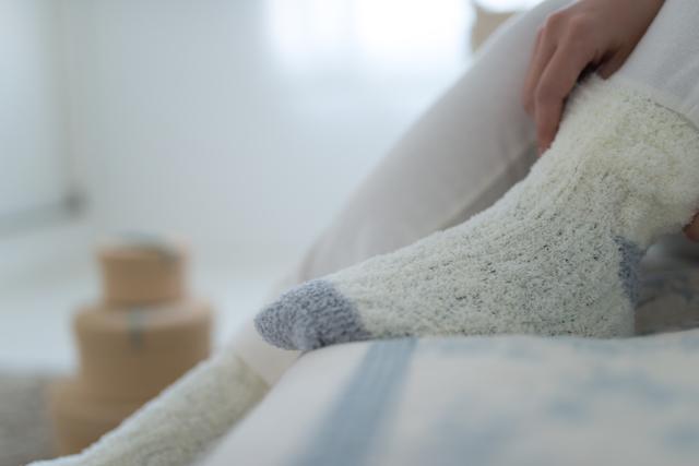 靴下はく,出産,入院,準備品