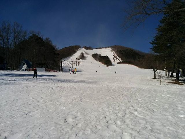 泉ヶ岳スキー場の外観,仙台,子連れ,おでかけ