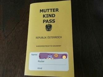 オーストリアの母子手帳,海外,子育て,生活
