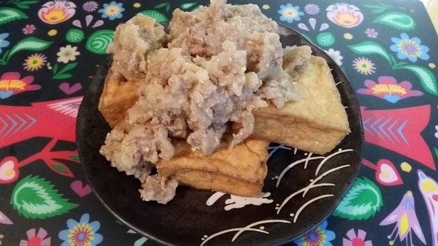 肉味噌と厚揚げ,そぼろ,レシピ,アレンジ