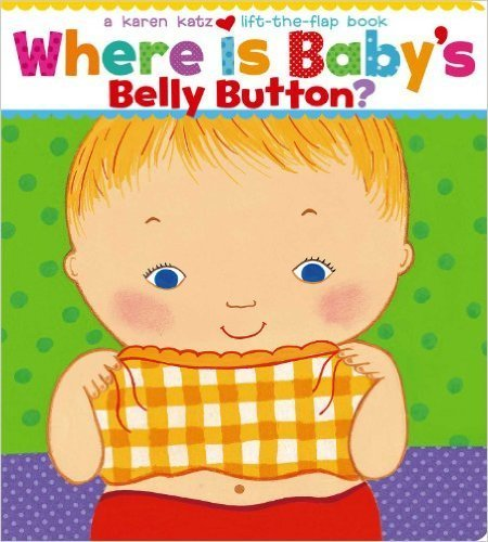 Where Is Baby's Belly Button?の絵本,英語,絵本,子ども
