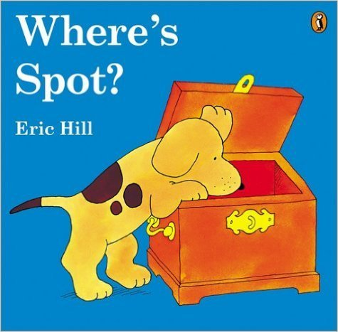 Where's Spot?の絵本,英語,絵本,子ども