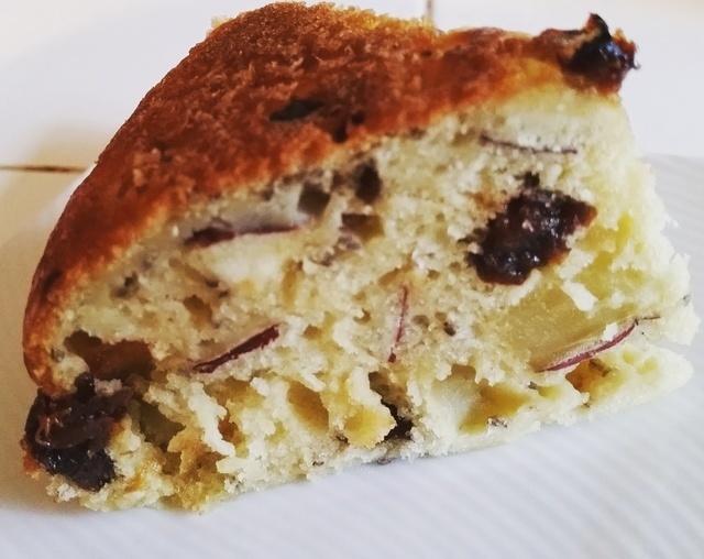 さつまいものケーキ完成,さつまいも,おやつ,簡単レシピ
