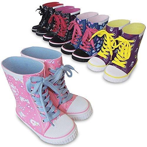カラフルな柄がかわいい長靴,長靴,通販,子ども