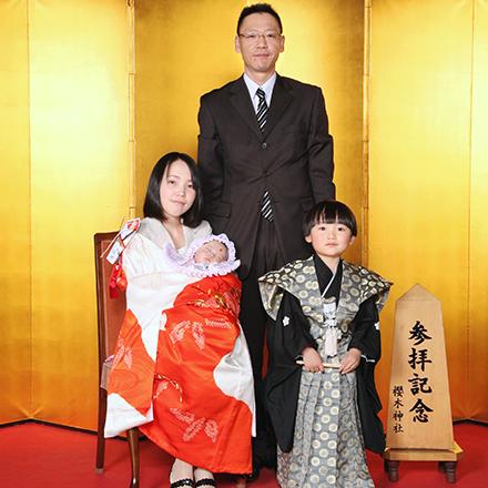 櫻木神社写真館,お宮参り,