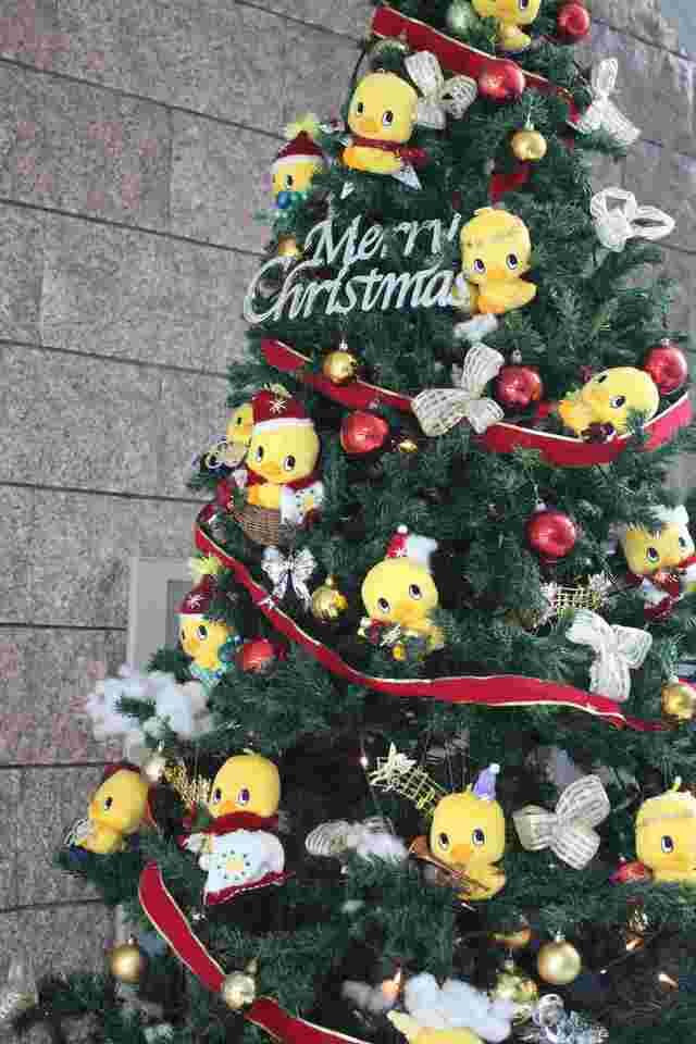 ひよこちゃんのクリスマスツリー,インスタントラーメン発明記念館,お土産,大阪