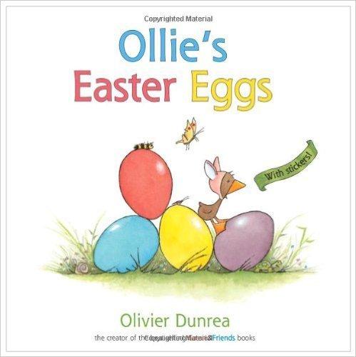Ollie's Easter Eggs表紙,イースター,英語絵本,読み聞かせ