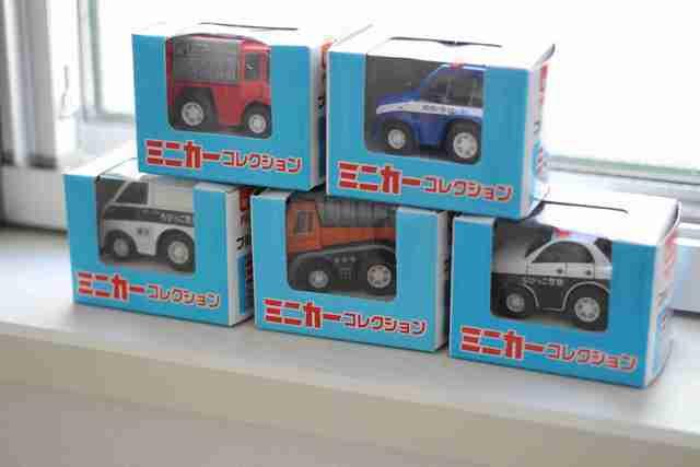 セリアミニカーコレクション,セリア,ミニカー,おもちゃ