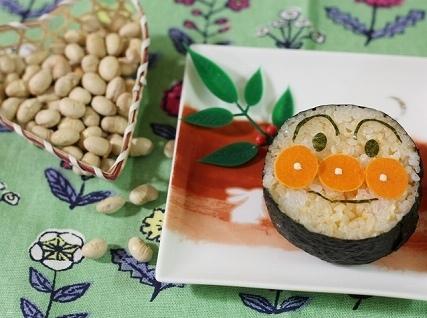 アンパンマン恵方巻き,キャラ,おにぎり,レシピ