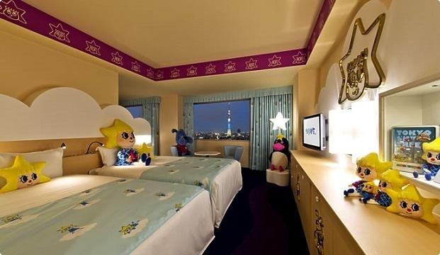 「ソラカラちゃん」ルーム,東武ホテルレバント東京,スカイツリー,おすすめ