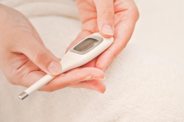 基礎体温計,陰性,妊娠,