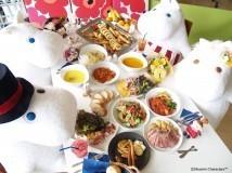 ムーミンカフェ料理,東京,ラクーア,ムーミンカフェ