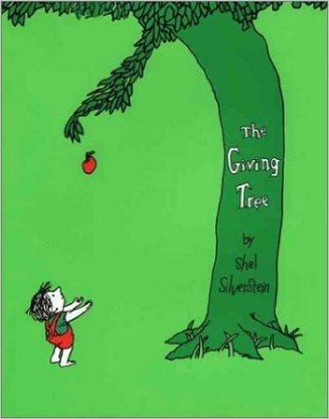 The Giving Treeの表紙,英語絵本,読み聞かせ,おすすめ