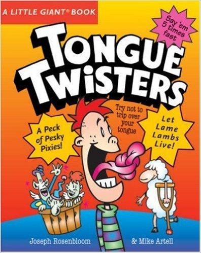 Tongue Twistersの表紙,英語絵本,読み聞かせ,おすすめ