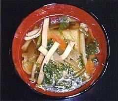 凍み豆腐のお雑煮,福島県,お正月,郷土料理