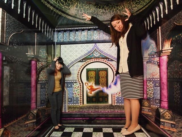 トリック3Dアート,屋内,遊び場,九州