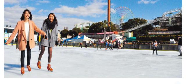 ひらかたパーク 屋外スケートリンク,大阪,スケート,リンク