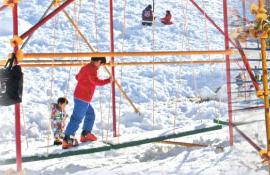 上越国際スキー場キッズパラダイス,子ども,おすすめ,スキー場
