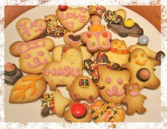 手作りクッキー,那須,高原,いちご